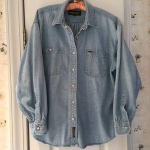 VTG Timberland Denim Shirt - Size M